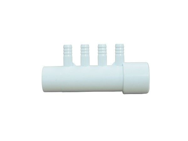 4 Port Air Manifold PVC Tube Fittings For Spa / 1 Inch PVC Pipe Fittings