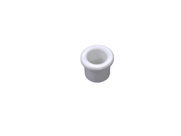 "White PVC Adaptor Fittings Plug 1/2"" Spigot Fits Inside 1/2 Inch Slip Fitting Of Hot Tub"
